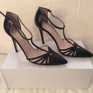 SJP Carrie Black Heels